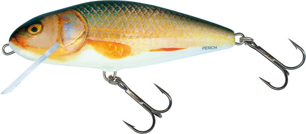 Salmo Perch 12cm Floating Farbe Real Roach