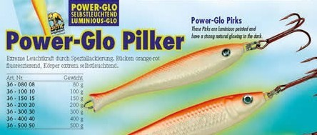 Behr Power Glow Pilker 300g