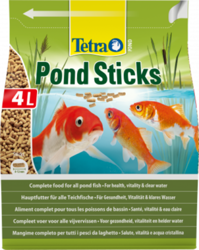Tetra Ponds Sticks 4 Liter Beutel