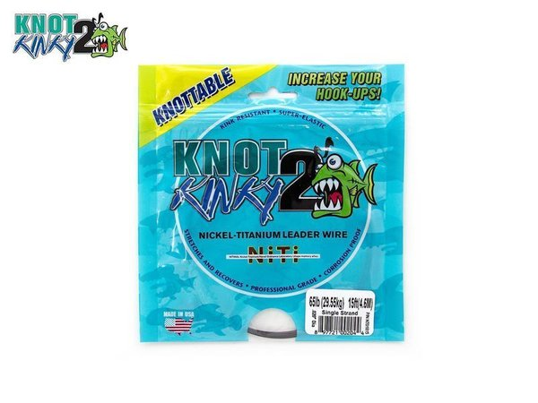 Knot Kinky 2 Titanium Vorfach 4,6m 5,44Kg single strand