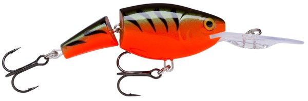 Rapala Jointed Shad Rap 4cm Red Tiger