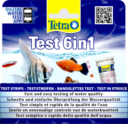 Tetra Test 6 in 1  Wassertest