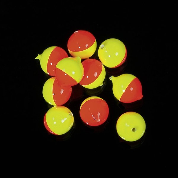 Lil Corky Perlen 5Stk. 8mm Farbe: FLCH Flame Chartreuse
