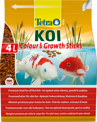 Tetra Pond Koi Colour&Growth Sticks 4Liter